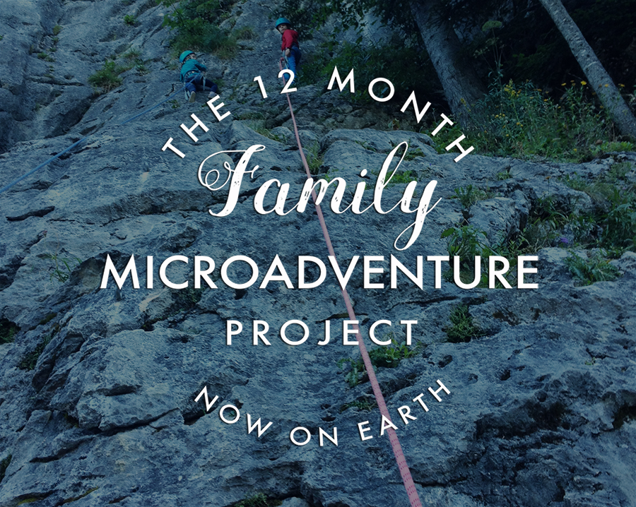 Our 12 Month Family Microadventures Project