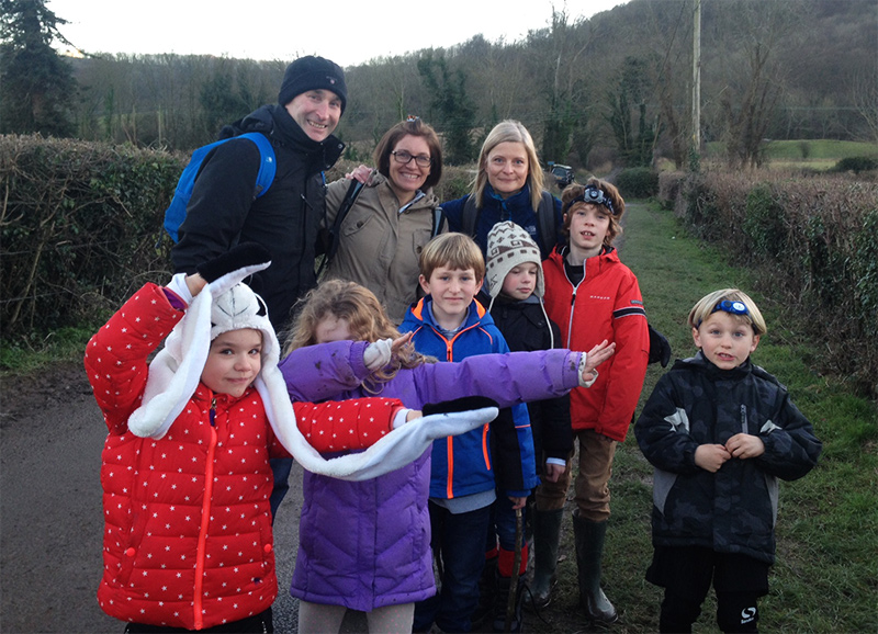 January Family Microadventure: Eleven Go On A Night Hike