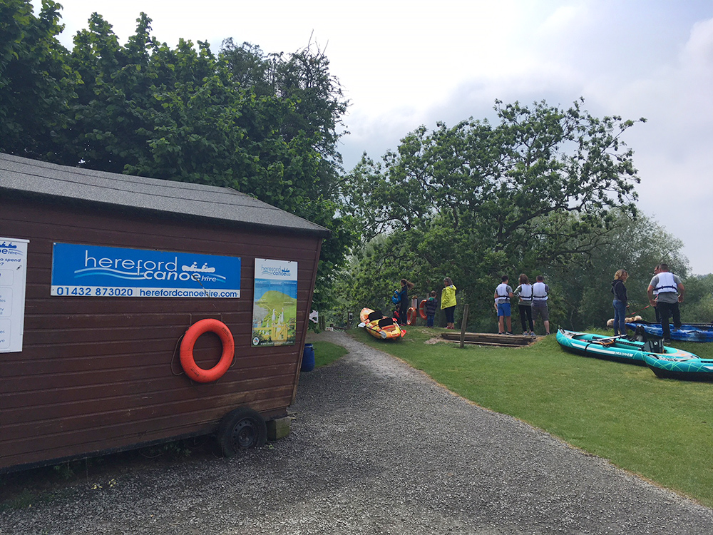 Hereford Canoe Hire