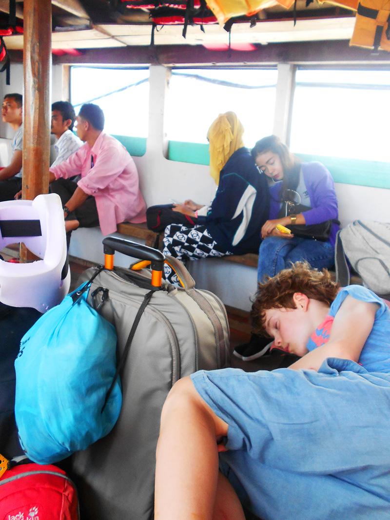 Local ferry to Kho Yao Noi