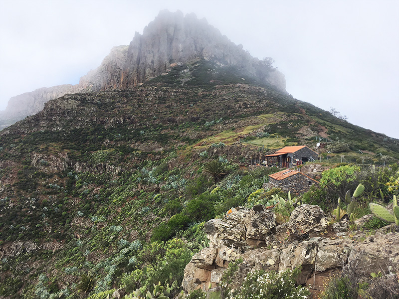 La Gomera mountain