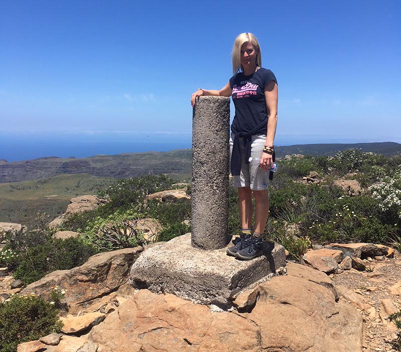 Top of the mountain, La Gomera
