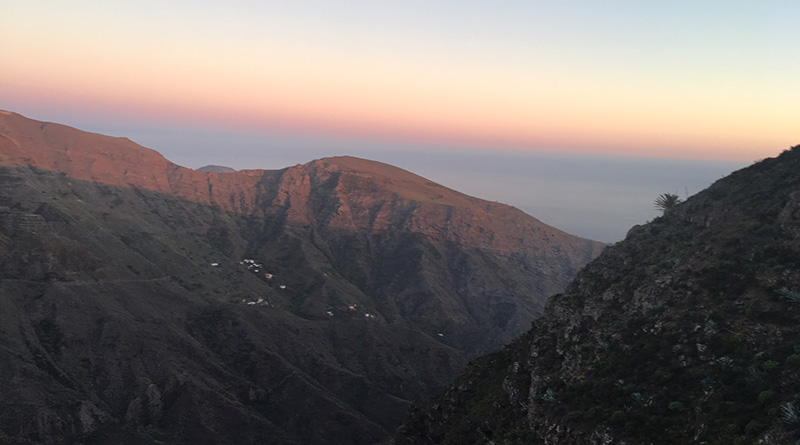 Sunset La Gomera