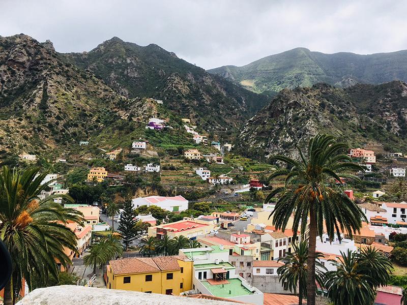 Colourful houses, La Gomera