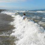 Wave Jumping At An Bang Beach