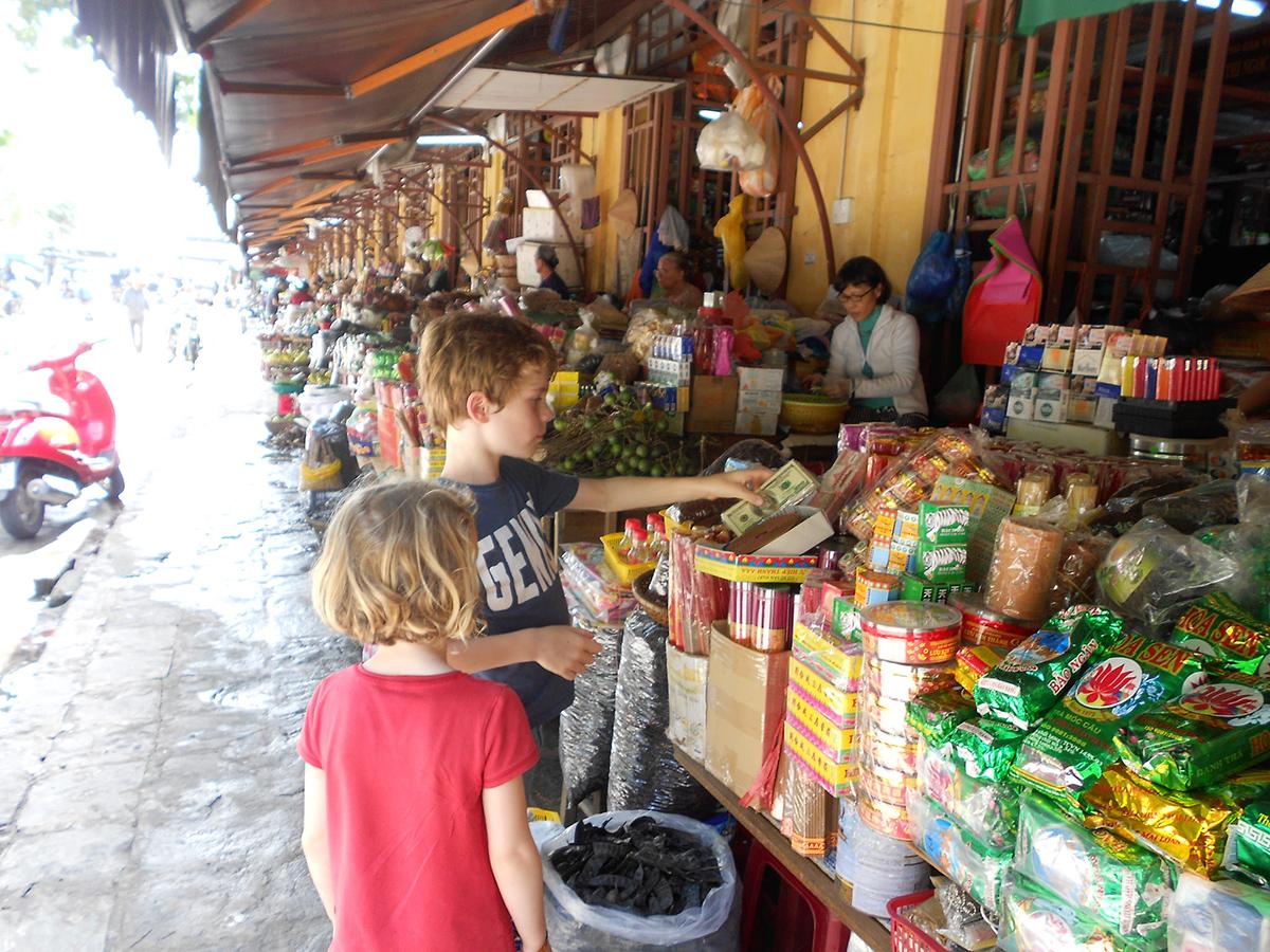 Street market Hoi An