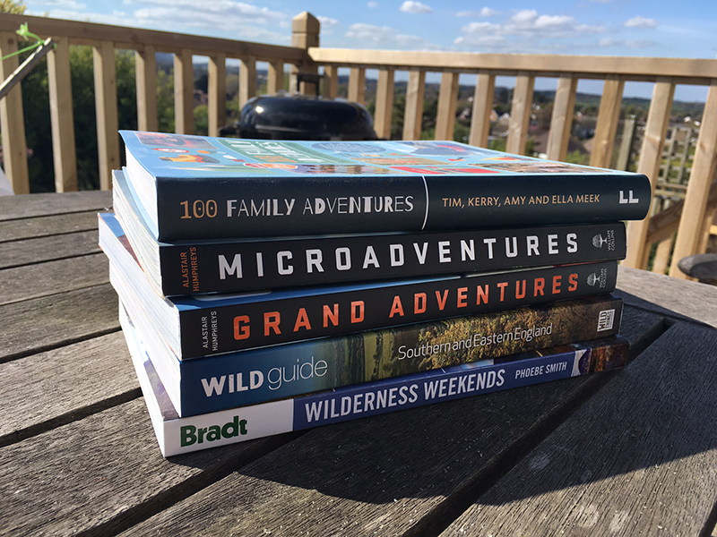 5 Books to inspire adventure