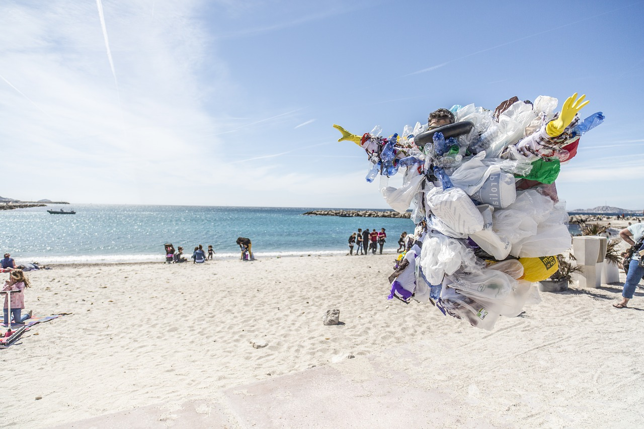Plastic free beach