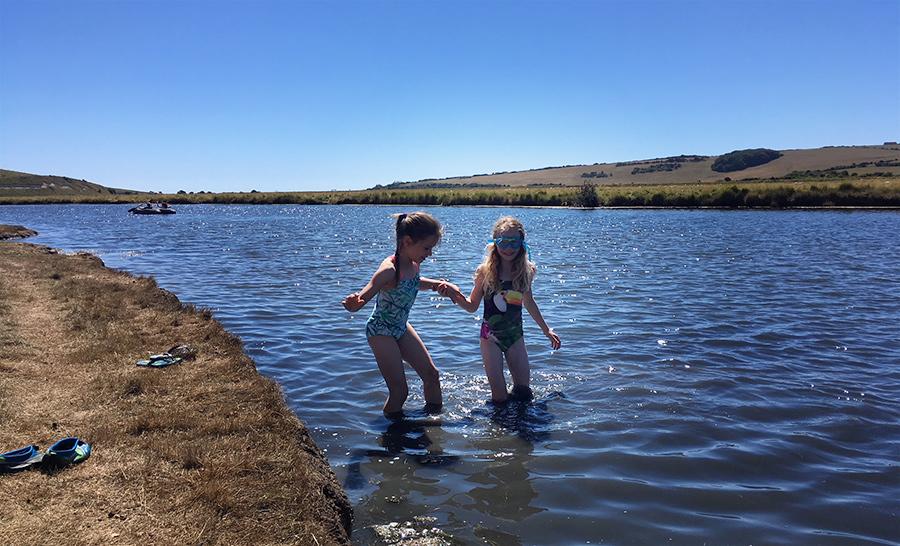 Wild swimming fun