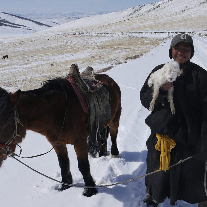 Cycling Across Mongolia