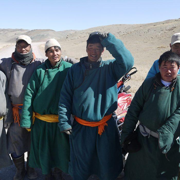 Mongolian Bikers