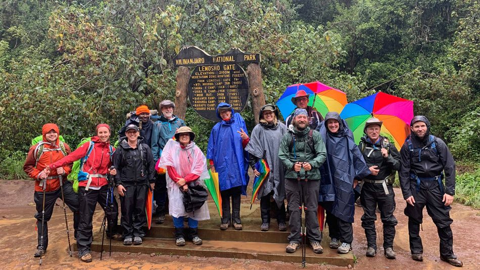 The Kilimanjaro team