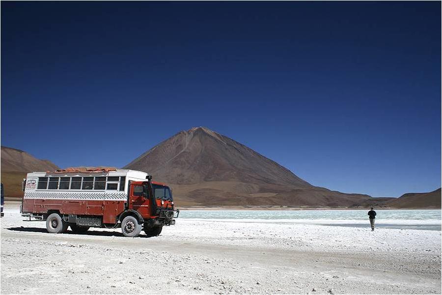 Dragoman in Bolivia