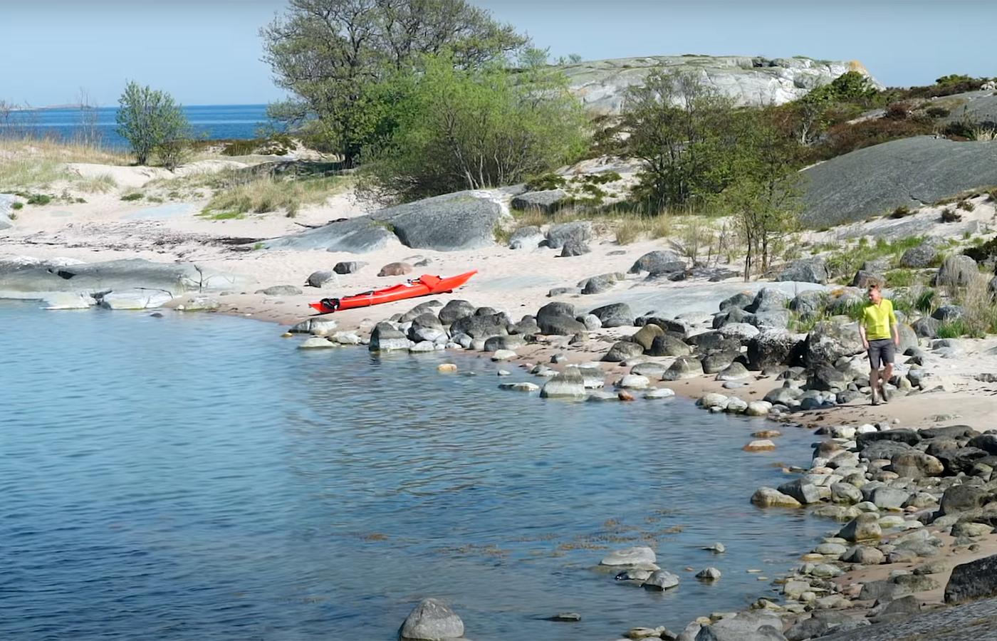 Canoeing microadventure