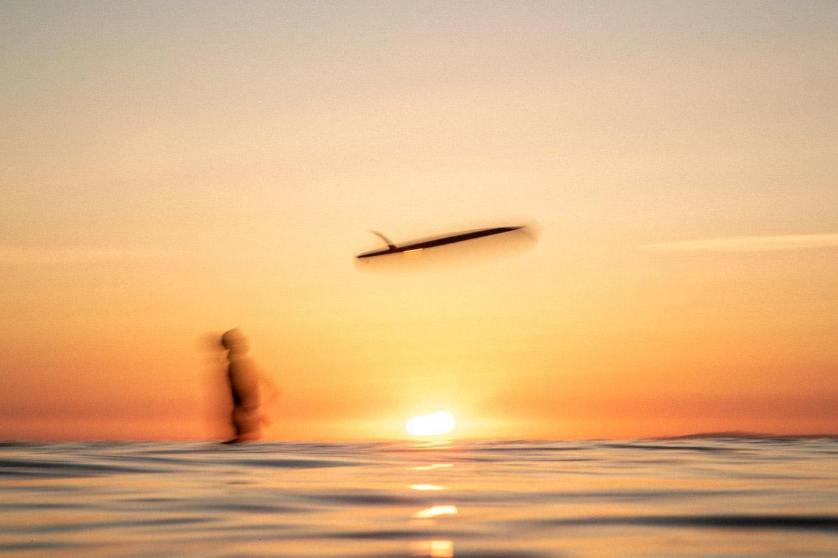 Dawn Days surfing