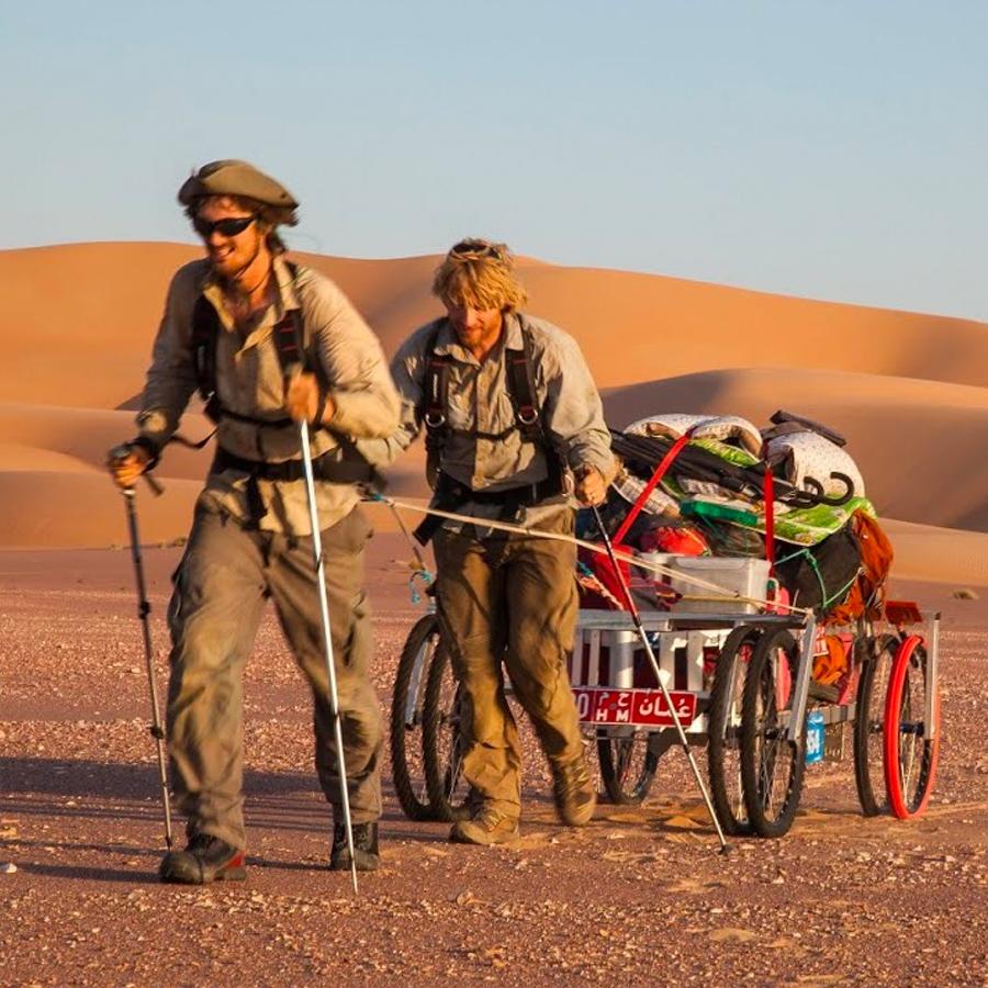 Film: Into The Empty Quarter - 1000 Mile Desert Crossing On Foot