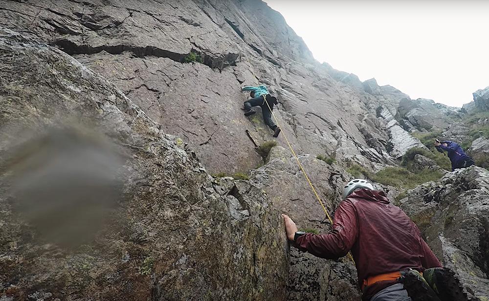 Heavy rain impedes the Classic Rock Challenge