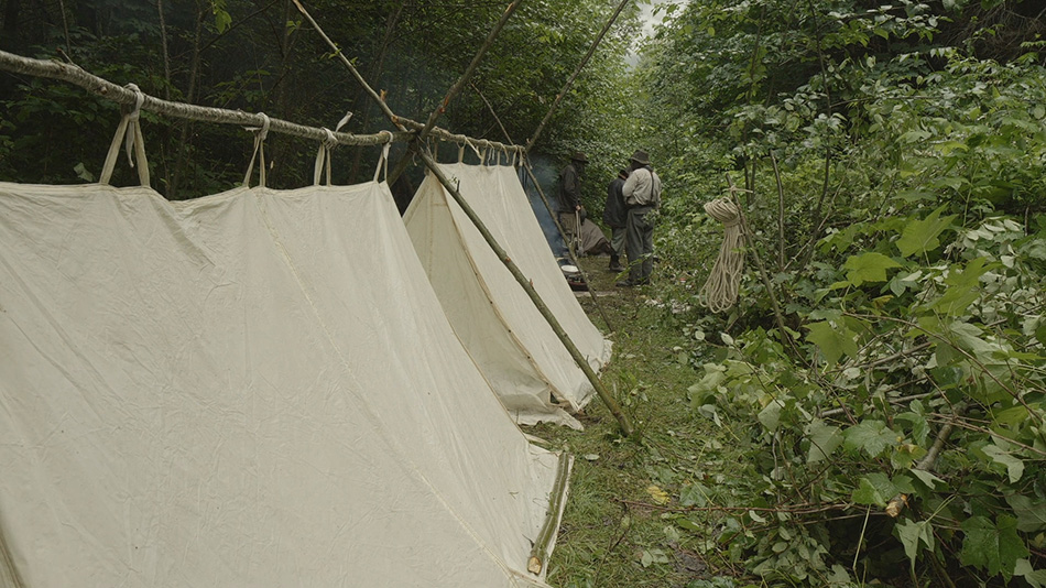 Traditional style homemade tents