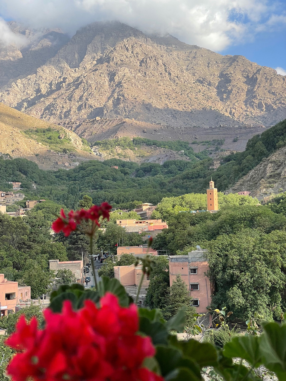 Alice Morrison's home in the Atlas Mountains